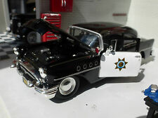 Buick Century 1955 California Highway Police Car 1:26 24 Scale Diecast Model