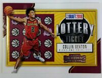 2018 18 Panini Contenders Retail Lottery Ticket Collin Sexton Rookie RC #8, Cavs