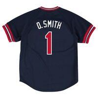 Ozzie Smith 1994 St Louis Cardinals Mitchell & Ness Authentic BP Jersey Men's