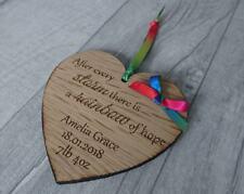 Rainbow Baby - Personalised Plaque - Wall Hanging - Sentimental Gift - Handmade