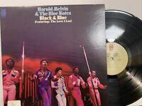 Harold Melvin & The Blue Notes – Black & Blue LP 1973 Philadelphia Int EX/NM