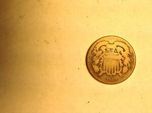 1869 2 Cent Piece               R3SM