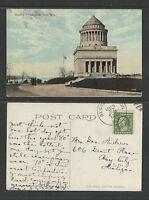 1911 GRANTS TOMB NEW YORK CITY NY POSTCARD