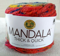 Lion Brand Mandala Thick and Quick Yarn Whirl Super Bulky 6 Acrylic