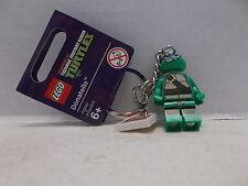 Lego #850646 Donatello Teenage Mutant Ninja Turtles Key Chain RHTF/Tag NIB 2013