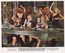 JAMES BOND CASINO ROYALE ORIG 1967 8X10 DAVID NIVEN SEXY SCOTTISH SPY GIRLS!