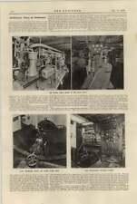 1920 Oil Electric Drive Shipboard Wynton Diesel Yacht Efay