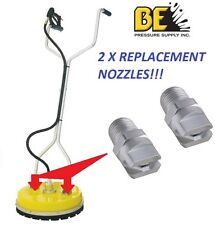 """WHIRLAWAY WHIRL A WAY 20"""" & 18""""  SURFACE CLEANER REPLACEMENT NOZZLES 85.225.025"""
