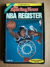 NBA REGISTER=ALMANACCO BASKET 93/94=CON FOTO = 350 PAG.