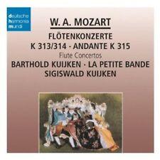 Mozart: Flute Concertos - Sigiswald Kuijken (2013, CD NUEVO)