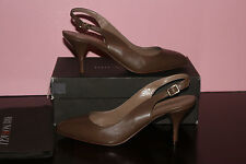 BRUNO MAGLI EUNICE TAUPE LEATHER MADE IN ITALY #10 $350