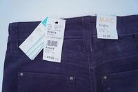 MAC Angela slim Damen Cord Hose Jeans stretch comfort W36 L32 lila NEU ad28