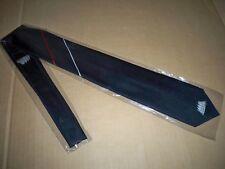 Edle Krawatte exquisit 100 % Polyester Dunkelblau mit Streifen