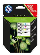 Cartouches D'origine HP 950xl (noire) 951xl (cyan Rouge et Jaune)
