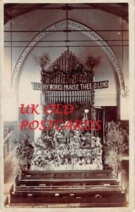 South East London - BELVEDERE, Congregational Church, Harvest,  Real Photo 1907