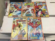 Team Titans #1, Set of 5 different Covers, Dc Comics, Free Shipping