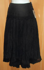 Regular Size Solid Long Full Skirts for Women