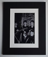 Pete Best Signed Autograph 10x8 photo mount display Beatles Music AFTAL & COA