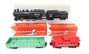 Clean 1964 American Flyer 20062 Gilbert Train Set Uncataloged Sgauge BuffaloHunt