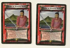 Strike of Flowing Water (2) L5R Legends of the Five Rings CCG Crimson and Jade