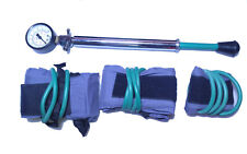 Brand New 3 Cuff Manual Pneumatic Tourniquet System With Bag