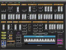 VIRTUAL JP-8000 editor / programmer - Roland JP-8000 / JP-8080 - LOGIC v4 - X