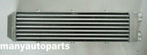 """NEW Turbo Aluminum Intercooler 2"""" 51mm 550x140x70 mm Delta Fin SAME SIDE OUTS"""