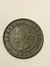 1871 Canada Prince Edward Island 1 Cent VF #19949