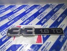 Scritta posteriore originale Alfa 33 1.8 Turbo Diesel  [4126.17]