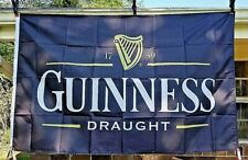 New Advertising Guinness Draught Beer Flag 3x5ft Bar Tavern Man Cave Pub Banner