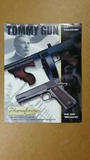 2001 TOMMY GUN THOMPSON GUN BROCHURE! MODELS 1927A-1, M1, 1927A-1