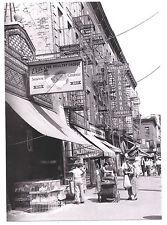 NEW POST CARD: 1935 Union St. Red Hook Italian BROOKLYN Chicken Market BARBARO