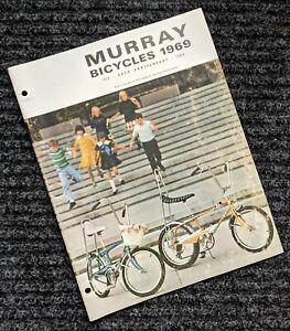 MURRAY 1969 Bicycle Sales Catalog  - ORIGINAL Eliminator / Wildcat   - 69 Bikes