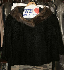 New listing Women's Fur Black coat