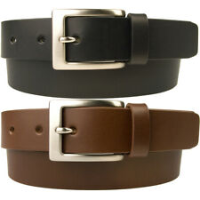 Mens Leather Suit Belt - High Quality - Made In UK By Skilled British Craftsmen