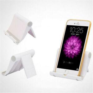 Cell Phone Desk Stand Holder Cradle Mount For Samsung iPhone LG Tablet Universal