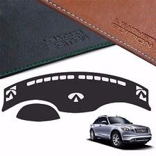 BornToRoad Leather Edition Premium Dashboard Cover For Infiniti FX 2007 2008