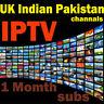 IPTV 1 Month UK Pakistan Indian IPTV Warranty for OpenBox Smart TV Mag Zgemma