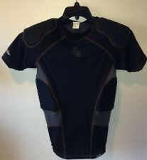 Shock Doctor Core Shockskin 5-Pad Athlete Shirt Black Grey Boys Large Lg L 385