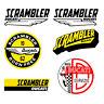 Adesivi Ducati scrambler aquila sticker vintage Decal auto moto print pvc 6 pz.