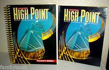 High Point Reading 6th Grade 6 Teachers Edition + TEXT + CD Homeschool Lot 3