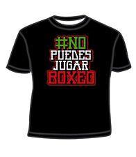 T shirt No Puedes Jugar Boxeo XL