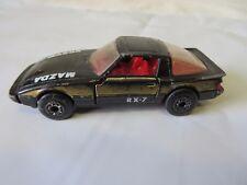 Matchbox 1982 Black Macro Mazda RX-7  #6228