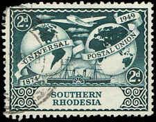 Scott # 71 - 1949 - ' UPU, Plane, Ship & Hemispheres '