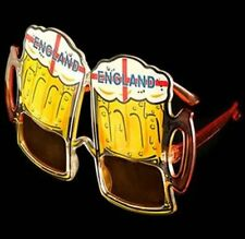 ENGLAND Football Novelty Beer Goggle Glasses NEW