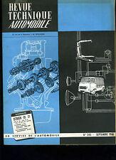 (C15) REVUE TECHNIQUE AUTOMOBILE CITROEN DS 21 / CITROEN 3CV