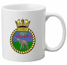 HMS GAMBIA COFFEE MUG