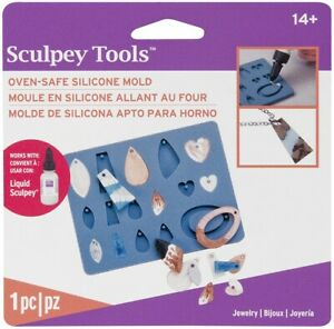 Liquid Sculpey Silicone Bakeable Mold W/Squeegee-Jewerly
