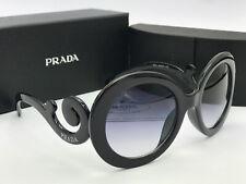 Sunglasses-Round22@¹Prada#¹PolarizedSPR-27NS-1AB3M1 Black/Gray Iridium