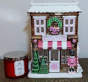 Bath And Body Works Gingerbread Holiday House Luminary 2019 *BNIB*